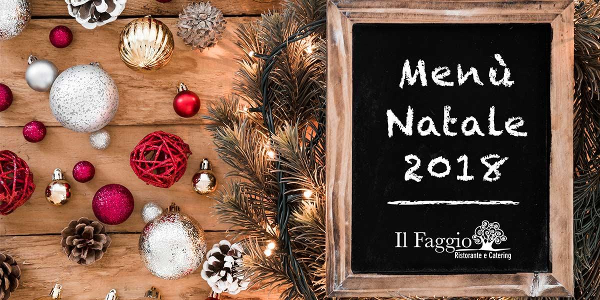 Menù Natale 2018